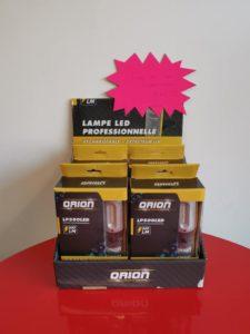 Lampe Led professionnelle 500 lumens + détecteur UV, rechargeable. Disponible en magasin.